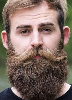 Amazing Beard Styles from Bearded Men Worldwide Beard And Mustache Styles, Big Moustache, Beard Styles For Men, Beard No Mustache, Hair And Beard Styles, Beards And Hair, Beards And Mustaches, Great Beards, Models