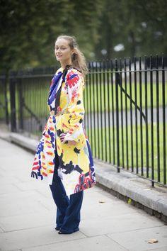 Pin for Later: Le Meilleur du Street Style de la Fashion Week de Londres Jour 4