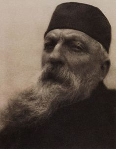 """""""Rodin"""", by Alvin Langdon Coburn. Photogravure published in Camera Work, No 21, 1908"""
