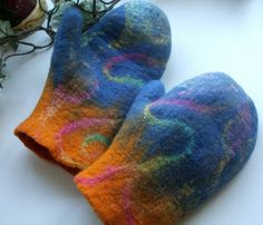Felters Journey: Making Mittens