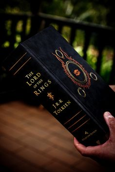 The Lord of the Rings ~ I just love to LOOK at books... This is beautiful.