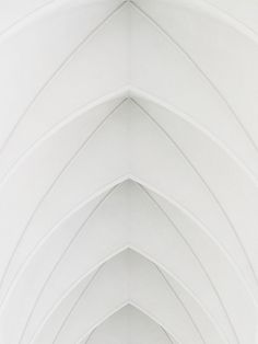 White - Arches of Hallgrimskirkja, Reykjavík, Iceland Pure White, Black And White, Blanco White, White Aesthetic, Shades Of White, Color Of Life, Light And Shadow, Interior Architecture, Church Architecture