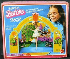 Image result for ballerina barbie stage 1976