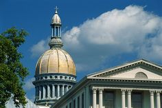 New Jersey State House building in Trenton.