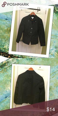 Nice Jacket! This jacket feels like quality. Flattering cut. Cotton. Isaac Mizrahi Jackets & Coats Blazers