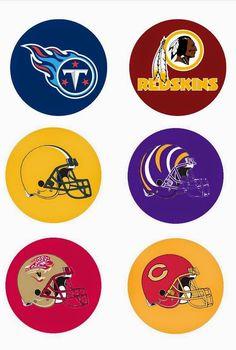 Folie du Jour Bottle Cap Images  All National League Football Teams free  one 1 inch digital bottle cap images NLF c3fd7ea124c4