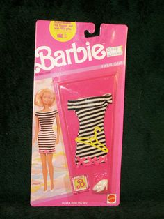 Vintage 90s  Easy Living Barbie Fashions Black and by dagutzyone, $25.00