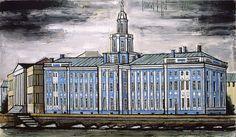 Saint-Petersbourg, Musée d'Antropologie