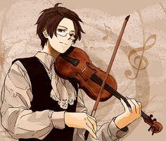 (Hetalia) You play such wonderful music Austria.
