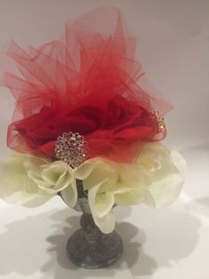 ELIXITA Centerpiece Wedding Decoration Center Flowers Silk arrangement Roses gem #ELIXITA
