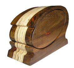 Mystic Woodcrafts: Kiaat Keepsake Box