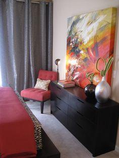 Michelle Salz-Smith, ASID, CID - modern - bedroom - other metro - Michelle Salz-Smith, ASID, CID @ Studio Surface