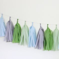 Loving this Tissue Paper Tassel Garland Kit we're selling in our store!