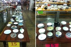 Here are more stores and shopping hubs to get your picks of glasses, plates, and figurines. Some go as low as a pop! Affordable Home Decor, Dinnerware, Table Settings, Plates, Canning, Shops, Stuff To Buy, Shopping, Dinner Ware