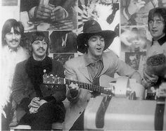 beatles black and white ..:*