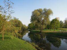 patrząc w jedną stronę: Park Kępa Potocka
