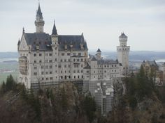 Neuschwanstein Castle, Garmisch, Germany- I saw every castle in our area. I thought I was in princess land!!!