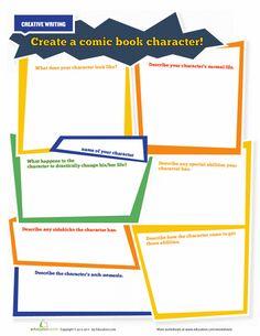 Worksheets: Create A Superhero