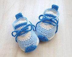 Patrón de ganchillo bebé cómodo bebé zapatillas de ganchillo