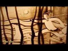 """Sand Art by Ilana Yahav - SandFantasy - """"One man's Dream 2010"""""""