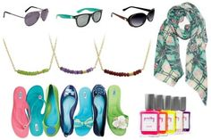 Enter to #win a prize package full of spring accessories valued at over $400 total! Includes choice of women's sunglasses from Del Sol, a Gemstone Bar Necklace from Isabelle Grace Jewelry, choice of shoes from the Oka-B Spring Collection, the Bindya NY Paris Kaleidoscope Scarf in Green from Chic Tweak, and two customized bottles of nail polish from Pretty Please! #Giveaway ends May 4 (11:59pm).
