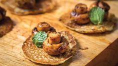 Savory pancakes by Rukhsara Osman