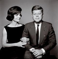President & Mrs. Kennedy