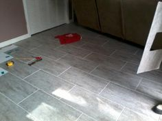 1000 ideas about vinyl tile flooring on pinterest luxury vinyl tile tiled floors and vinyl tiles for Groutable vinyl tile in bathroom