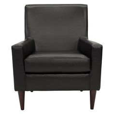 Fox Hill Emma Leatherette Arm Chair $178 Hayneedle