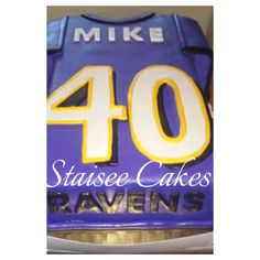 Baltimore Ravens Cake