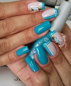 Fails Design Easter Spring Manicures 23 Ideas For 2019 Acrylic Nail Designs, Nail Art Designs, Acrylic Nails, Fail Nails, One Stroke Nails, Glitter French Manicure, Butterfly Nail, Chrome Nails, Square Nails