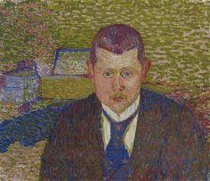 Portrait von Oskar Kurt, 1894 - Cuno Amiet - WikiArt.org