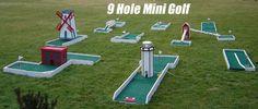 homemade backyard mini golf course | Mini-Golf Games