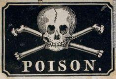 etiquette poison - Recherche Google