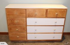 This 1970's solid PINE lowboy has been lovingly up cycled and is now ready for its new home.