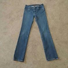 Genuine Fossil jeans size 28 straight leg Genuine Fossil jeans size 28 straight leg Fossil Jeans Straight Leg