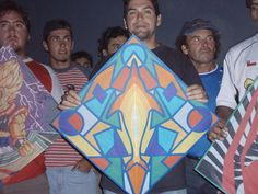 Fighter kites from Chile