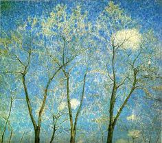 Acacias in Spring byMikhail Larionov