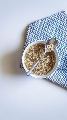 Food Photography, Oatmeal, Breakfast, Recipes, The Oatmeal, Morning Coffee, Rolled Oats, Recipies, Ripped Recipes