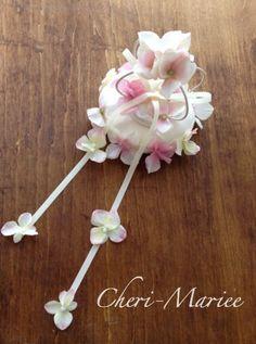 クラウンと小花のリングピロー 手作りキット<シェリーマリエ・リングピローコーナー>