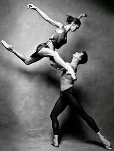 Polina Semionova and Guillaume Cote Vogue, Russia. Photographed by Patrick Demarchelier