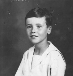 Jack Lemmon, age 5... oh my yes. Those freckles are on their way in!