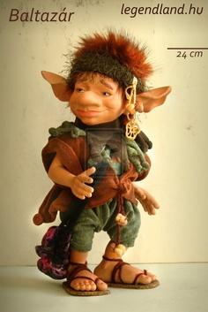 Baltazar - BJD - OOAK Goblin Ball Jointed Doll by LegendLand.deviantart.com on @deviantART