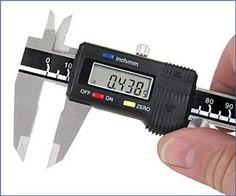 Digital Caliper with Standard Numerals, 6 Inch Capacity