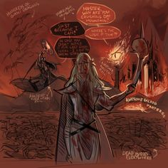 sauron and melkor | ... the hobbit silmarillion sauron Thranduil Melkor Desolation of Smaug