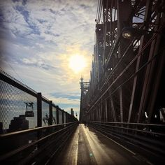 Had an amazing run today #nyc #queens #bridge. Sending  #love and #light to everyone #nevergiveup and keep #movingforward with #faith knowing that you are never on your own! Have a beautiful and #blessed day! by nicolescherzy