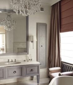 French Country House, Teak, Beautiful Homes, Home And Garden, Vanity, Mirror, Bathroom, Furniture, Home Decor