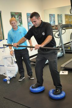 Golf fitness workout class at College of Golf