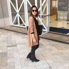 "2,255 Me gusta, 124 comentarios - Lúcia Cristina Chan (@lucitacris) en Instagram: ""Dressed for the cold day , back to SP ☁   A paleta de cores perfeita para esse inverno."""