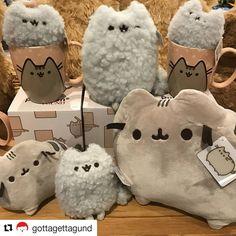 """Pusheen (@pusheenthecatadventures) on Instagram: """"#pusheenthecat #cat #cats #cute #kawaii . #Repost @gottagettagund (@get_repost) ・・・ Pusheens…"""" https://instagram.com/p/BWB3gJoAu98/"""